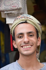 Shopkeeper, Yemen (Rod Waddington) Tags: portrait man mountains yemen haraz shopkeeper yemeni