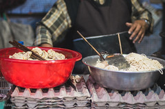 [344] - momos and noodles (jathdreams) Tags: travel food india vintage 50mm nikon streetphotography wanderlust noodles streetfood darjeeling momos northindia travelphotography 50mmf14d northeastindia incredibleindia nikond5100