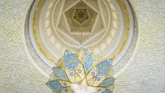 Under the dome (Bartholomew K Poonsiri) Tags: white building islam religion uae middleeast wideangle mosque structure abudhabi sheikhzayedgrandmosque sonyepz1650mmf3556oss sonyilce6000