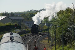 DSC07355 (Alexander Morley) Tags: ireland no 4 patrick railway class number railtour westport ncc society derby preservation wt lms croagh rpsi 264t