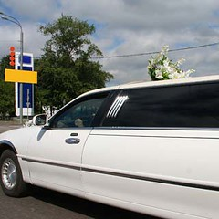 Wedding Limousine (blisaura123) Tags: door travel wedding white celebrity car wheel private handle mirror waiting shiny long driving married view time side parking transport tourist class celebration business event prom american transportation land vehicle service mode success luxury stretching currency limousine hire wealth prosperity pampered elegance individuality hired carservice pampering