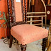 Antique stock occasional chair
