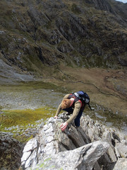 Cneifion Arete (sgl0jd) Tags: park mountains wales cymru national snowdonia scrambling