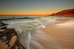 Newcastle Beach Shorelines (Paul Hollins) Tags: seascape beach waves australia motionblur shore newsouthwales aus watermovement newcastleeast nikon1635mmf4 nikond750