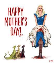 Awwww. Happy Mothers Day by JamesBousema on DeviantArt #got #agot #asoiaf #GameofThrones #GoT #Tyrion #Lannister #Arya #Stark #Daenerys #Targaryen #JonSnow #Hodor #Humor (GameofThronesFreak) Tags: snow game jon humor arya got stark thrones daenerys tyrion lannister targaryen hodor