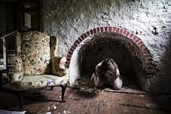 Time Lapse (sadandbeautiful (Sarah)) Tags: woman house selfportrait abandoned me female self pennsylvania urbex