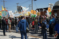 DSC00799 (Break Free Midwest) Tags: march midwest break protest free 350 bp whiting breakfree 350org breakfree2016