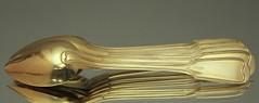 Lffel, Teelffel, Kaffeelffel, vergoldet, feruervergoldet, 13 Loth, Silber, Hilsberg, Augusburger Faden (Kabelitz Porzellan) Tags: tea spoon lffel silber spaten faden augsburger teelffel vergoldet kaffeelffel hilsberg ltig kablelitz kabelitzporzellan christophkaiser 13loth feruervergoldet lthig