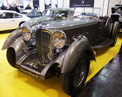 Lagonda LG45 Rapide Roadster 1936 (Zappadong) Tags: auto classic car 1936 essen automobile voiture coche classics techno oldtimer oldie carshow roadster lagonda rapide youngtimer 2016 automobil classica lg45 oldtimertreffen zappadong