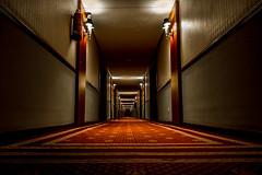 Sans fin (Nicolas Bondue) Tags: madrid architecture canon hotel spain angle wide corridor wideangle tokina espana uga espagne couloir uwa wideanglelens grandangle 1116 60d tokina1116