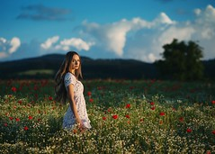 the beginning of the czech summer (Bara Vavrova) Tags: summer portrait nature landscape meadow czechrepublic baravavrova