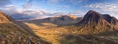 Highland Evening (J McSporran) Tags: panorama landscape scotland highlands glencoe westhighlands buachailleetivemor canon6d