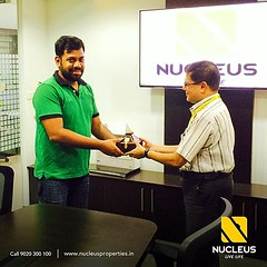 Key to a beautiful beginning ......  We are extremely happy to hand over the key to our privileged customer Mr. Kuriyan Mathew  (Lavender Villa 14).  May the new home  be filled with joy and cheer.  #Kerala #Kochi #India #Ho (nucleusproperties) Tags: life city india house building home nature beautiful beauty architecture design living construction realestate view apartment interior gorgeous lifestyle style atmosphere kerala villa environment elegant exquisite comfort luxury kochi elegance