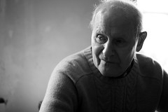 grandfather portrait (alexandrecroizard) Tags: portrait bw grandfather nb