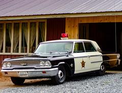 Unicoi County Sheriff Patrol Car (tisatruett) Tags: old car america automobile antiquecar transportation law sheriff iconic oldtime unicoi timesgoneby iconicamerica