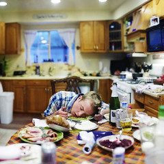 Post turkey. (David Talley) Tags: thanksgiving thanks dinner turkey sauce knife cranberrysauce cider fork ham give sleepy cranberry tired thanksgivingdinner sparkling tryptophan martinellis