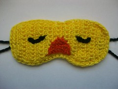 Quacky sleep mask (Mooy) Tags: sleeping cute animal yellow duck mask handmade sleep crochet sleepy kawaii etsy sleepmask mooeyandfriends