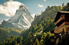 Chalet Bellevue (d90fz8) Tags: alps berg schweiz switzerland suisse chalet zermatt matterhorn monte alpen aussicht bellevue cervino