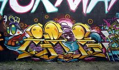Zade (COLOR IMPOSIBLE CREW) Tags: chile santiago graffiti polen graff sena zade stgo stik 2011 jkr fros peñalolen