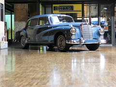 1958 Mercedes-Benz 300 d (W189) Adenauer Limousine (Transaxle (alias Toprope)) Tags: auto berlin classic cars beauty car sedan vintage germany mercedes benz nikon 300d power antique engineering voiture historic retro german coche 1950s soul mercedesbenz carros classics 1958 carro oldtimer 1960s autos 500views 300 straight veteran saloon 車 macchina mb 1962 limousine antiguo coches bosch 1961 clasico 600views 1959 voitures toprope 1960 elegance remise meilenwerk 4speed macchine greyblue fuelinjection 4door adenauer altmoabit 3litre 10favs autoretro manualtransmission 6cylinders w189 kraftfahrzeuge السيارات kraftwagen wiebestrasse hardtoplimousine db162 carselegance mostfavedplus