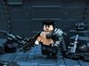 Bionic ([N]atsty) Tags: mod paint lego bionic hazel ama ba minifig custom gundam minigun minifigure brickarms brickwarrior amazingarmory minifigcat