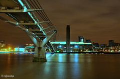 Tate Modern, London (raghavvidya) Tags: xmas uk england london st thames modern project december footbridge tate pauls millennium explore 2011 raghavvidya
