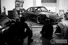 We Love Cars (Danh Phan) Tags: texas houston porsche rwb 993 maydaygarage akiranakai rauhweltbeigriff