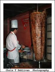 Turkish Doner Kebab (CTPPIX.com) Tags: voyage trip vacation people food man canon turkey eos yummy beef urlaub turkiye cook istanbul meat apron delicious chef lamb ctp taksim beyoglu turkishfood turchia istiklalcaddesi turkei donerkebab chefshat 40d ctpehlivan christpehlivan ctppix ctppixcom donerci etdoner turkishcook