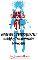 New Font Suicidal Tendencies (MARCIO HIROSSE) Tags: venice mexico typography mexican font type calligraphy tipografia suicidaltendencies caligrafia