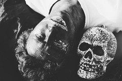 (Louise Spence) Tags: dayofthedead skull harry identity darlington muertes harrydarlington