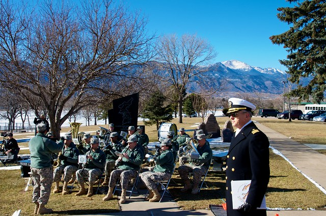 Army Band & Pikes Peak
