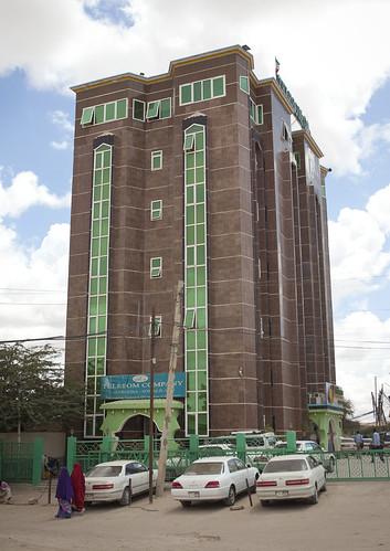 Telesom Telecom Company Building In Hargeisa Somaliland