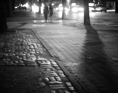 Central Park East - Cobblestone Sidewalk - Upper East Side - New York City (Vivienne Gucwa) Tags: nyc newyorkcity nightphotography travel urban blackandwhite ny newyork night centralpark manhattan urbanexploration romantic gothamist curbed uppereastside gawker urbanphotography newyorkcityatnight blackandwhitephoto newyorkpictures wnyc nycphoto nycatnight centralparkeast manhattanstreet newyorkcitystreet cityphoto cityphotography newyorkphoto nycphotography summercentralpark newyorkcityphotography coupleonadate summernewyorkcity centralparknight manhattansidewalk romanticnewyork viviennegucwa viviennegucwaphotography bestplacesnewyork blackandwhitenewyorkcityphotography coupleholdinghandsatnight datenightnewyorkcity TGAM:photodesk=night TGAM:photodesk=shadows