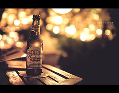 304.365 - Budweiser Night (Chalres Wonderland*) Tags: life light beer bar night 35mm canon day bokeh patio drinks alcohol 365 moment budweiser canonef35mmf14lusm 60d