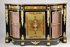 8. French Empire style Cabinet