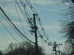 Morristown bracketed jumble (en tee gee) Tags: newjersey wires poles 13kv