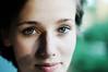 smiling eyes (laura zalenga) Tags: shadow woman green girl smile face self mouth eyes close snapshot gaze ©laurazalenga