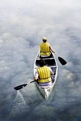 row into surreality (PaneDM) Tags: surreal row canoe rowing canoeing paddling matchpointwinner thechallengefactory thechallengefactorywinner thepinnaclehof kanchenjungachallengewinner rowintosurreality tphofweek178