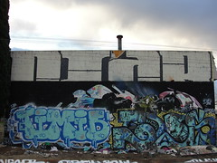 DIAR / TIMID / TELOS (Same $hit Different Day) Tags: graffiti bay south telos roller dtc timid diar