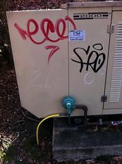 Eco Fro Zoo (Johny pockets) Tags: zoo graffiti carver eco fro btd fros froe phroe