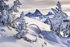 The Other Side of the Mountain (James Neeley) Tags: mountains landscape wyoming grandtetons tetons hdr f12 winterlandscape grandtarghee 5xp jamesneeley flickr24