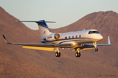 Gulfstream G-II 'N550WP' (Tom_Morris Photos) Tags: aircraft jet gulfstream bizjet scottsdaleairport sdl gii ksdl n550wp