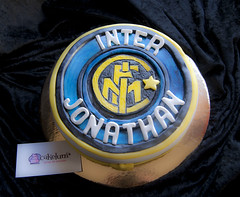 Inter de Milan (HarleyK) Tags: cake galicia futbol smurfs fondant pasteleria pitufos tartasdecoradas cakelum tartasenvigo tartasdediseo tartasartisticas tartapitufos tortapitufos cursosdereposteriaenvigo