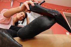 socks (socksandnylons) Tags: girls feet girl socks fetish foot dirty socken pantyhose nylon nylons strumpfhosen fus fse