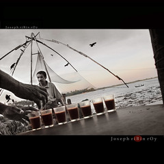 Tea is a time !! (ribinroy) Tags: fishing tea cochin chai chaya fortcochin