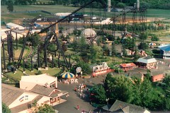 Darien Lake 19930001 (Sweet One) Tags: park usa ny amusement 1993 rollercoaster newyorkstate viper darienlake bearvalleybumperbuggys