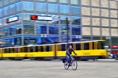 Bicycle (Nick-K (Nikos Koutoulas)) Tags: bicycle panning  nikon d700