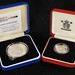 3042. (2) UK Silver Proof Coins