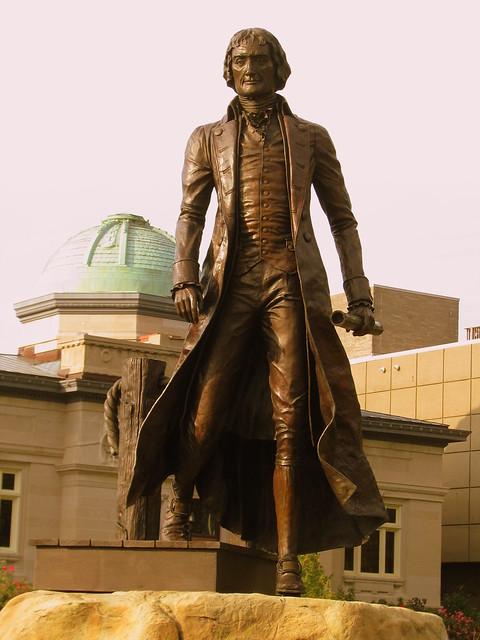 Thomas Jefferson Statue - Jeffersonville, IN