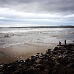 Surfing Lahinch (katie/king) Tags: travel ireland beach europe lahinch